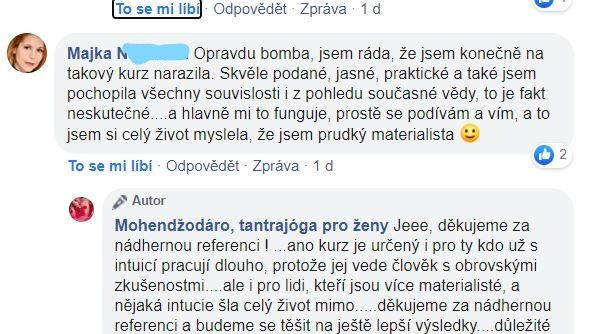 Rozvoj intuice reference